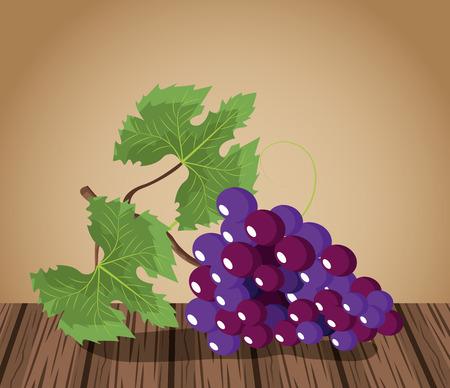 Wine grapes design icon vector illustration graphic design.