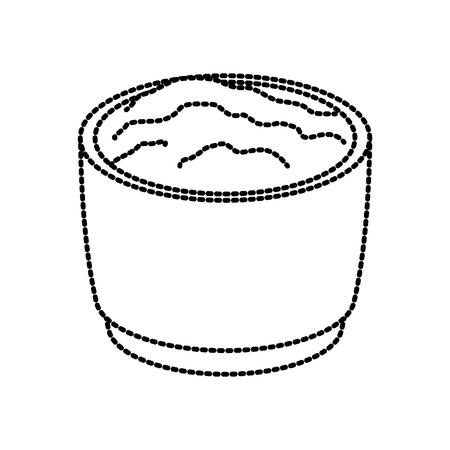 Progettazione grafica messicana dell'illustrazione di vettore dell'icona della salsa di peperoncini rossi Archivio Fotografico - 94454521