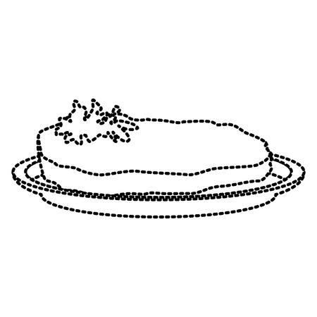 Beef steak food icon vector illustration graphic design Vektoros illusztráció