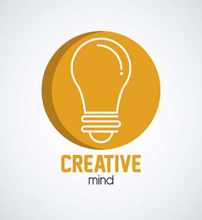 Creative minds and ideas icon vector illustration graphic Illustration