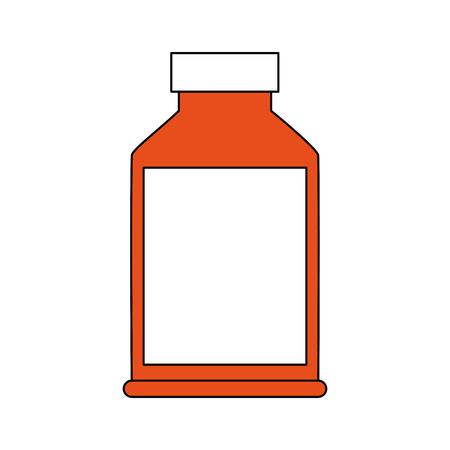 Medicine bottle symbol icon vector illustration graphic design