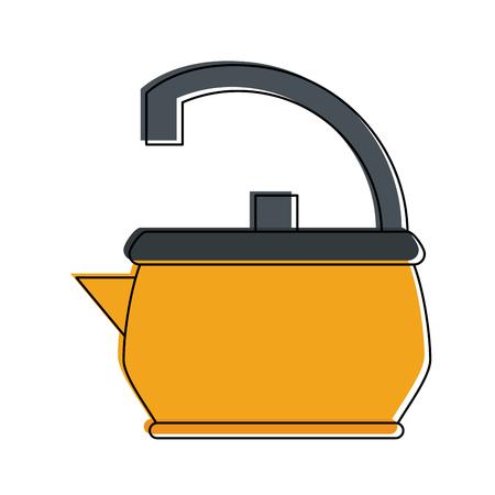 Teapot kettle symbol icon vector illustration graphic design Illustration