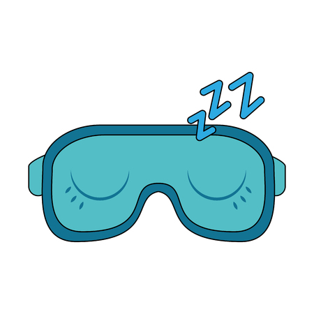 Sleeping cover eyes icon vector illustration graphic design