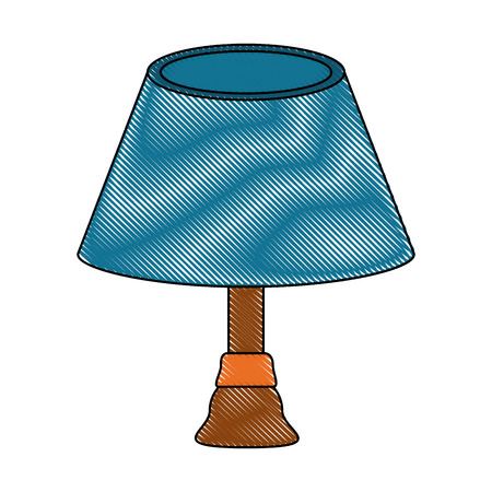 Desk night light icon vector illustration graphic design Illustration