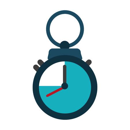 Chronometer time symbol icon vector illustration graphic design