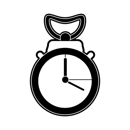 Chronometer time symbol icon. Vector illustration graphic design.