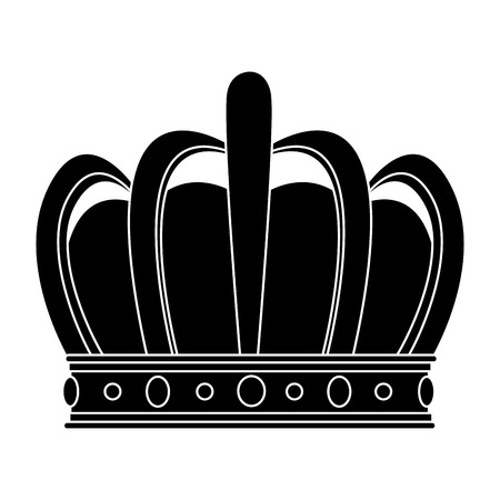 King Crown Symbol Icon Vector Illustration Graphic Design Royalty