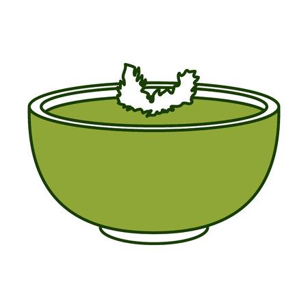 Progettazione grafica messicana dell'illustrazione di vettore dell'icona della salsa di peperoncini rossi Archivio Fotografico - 94593467