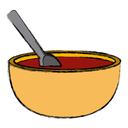 Mexican chili sauce icon vector illustration graphic design.