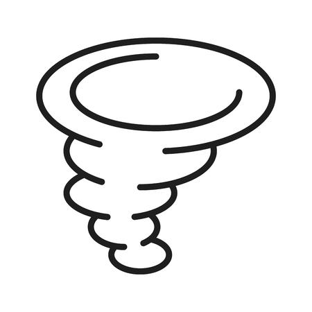Twister storm symbol Vectores
