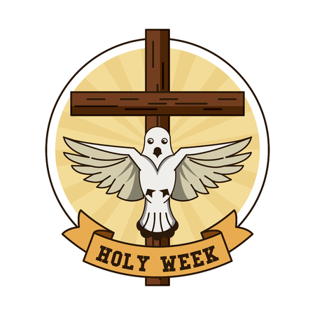 Holy week catholic tradition icon