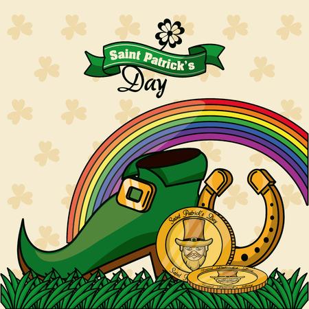 Saint patricks day cartoons icon vector illustration graphic design