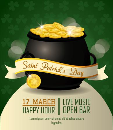 SAint patricks day party icon vector illustration graphic design