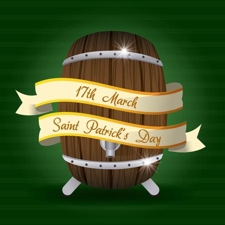 Saint patricks day card icon vector illustration graphic design