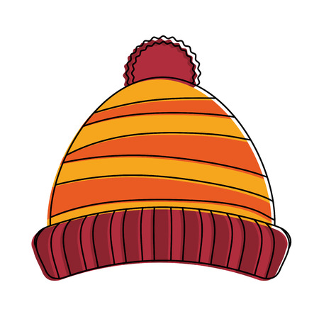 d079245c91b Beanie winter hat icon vector illustration graphic design