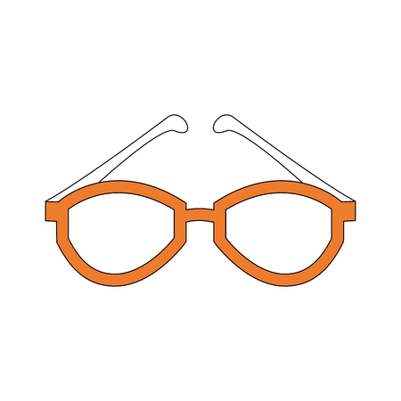 Sunglasses fashion accesory icon vector illustration graphic design