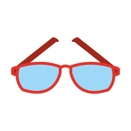Glasses optical lens icon vector illustration graphic design