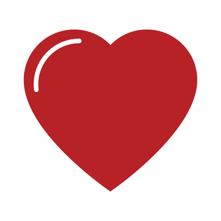Heart isolated symbol icon vector illustration graphic design