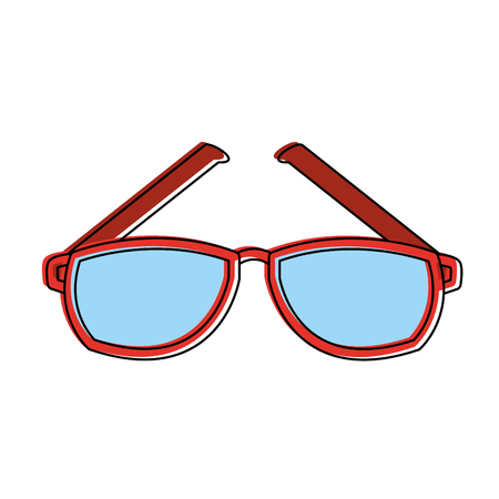 Glasses optical lens icon vector illustration graphic design