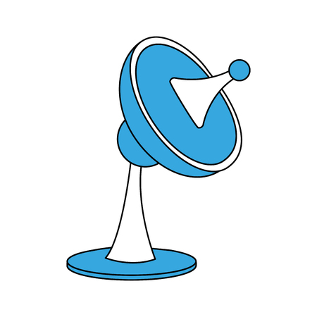 Communication antenna symbol icon vector illustration graphic design