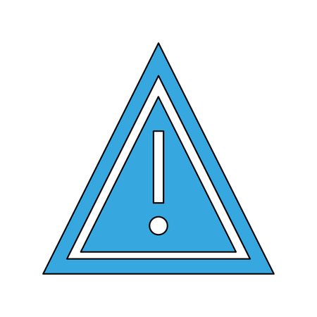 Attention sign symbol icon