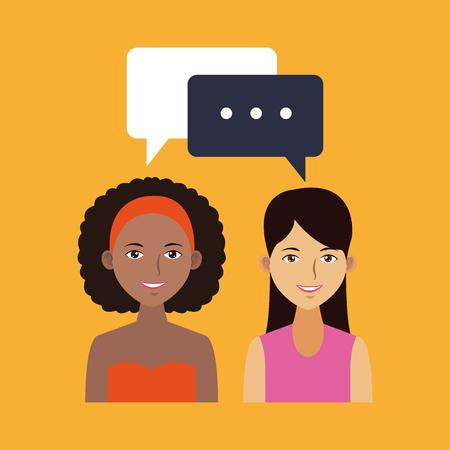 Social network and media vector illustration graphic design