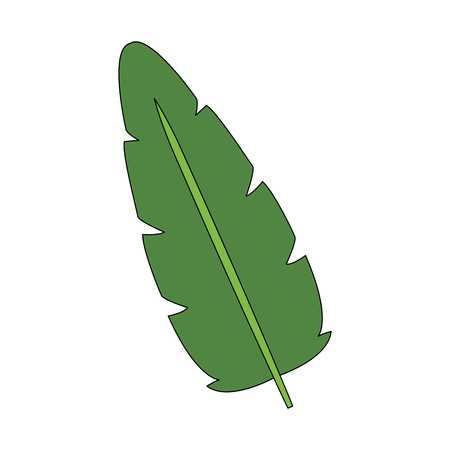 Leaf eco symbol icon vector illustration graphic design Ilustração