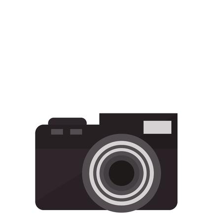 A photographic camera icon image vector illustration design