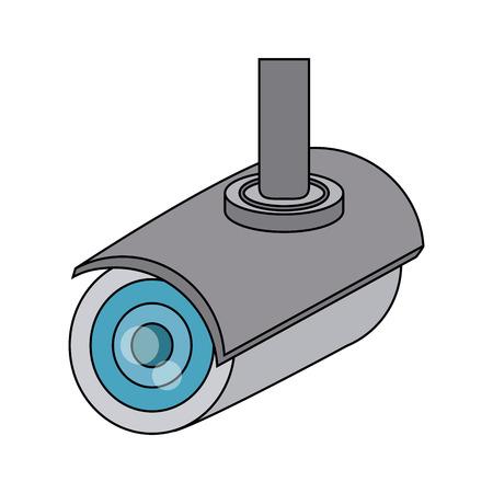 camera security or surveillance icon image vector illustration design