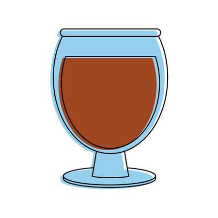 wine glass icon image vector illustration design