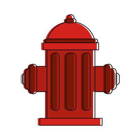 water hydrant icon image vector illustration design  Illustration