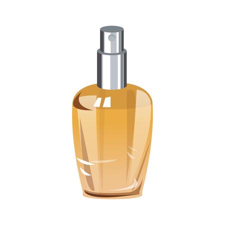 Perfume bottle isolated vector illustration graphic design Illustration