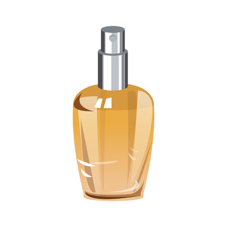 Perfume bottle isolated vector illustration graphic design Ilustrace