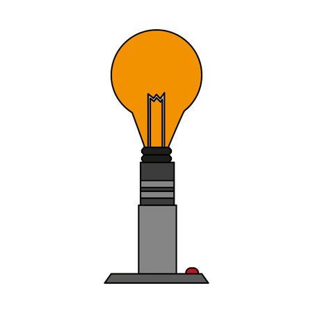Bulb light energy icon vector illustration graphic design.