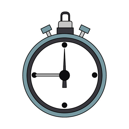 Timer clock symbol icon vector illustration graphic design Illustration