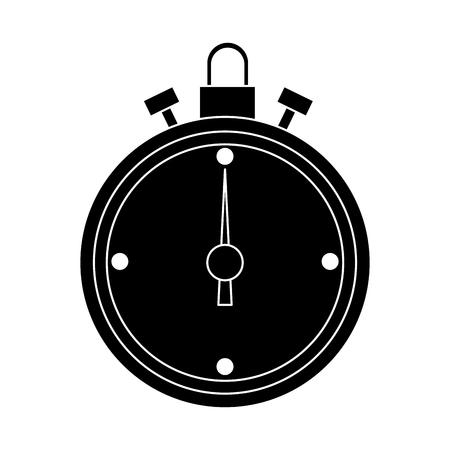 Timer clock symbol icon vector illustration graphic design Иллюстрация