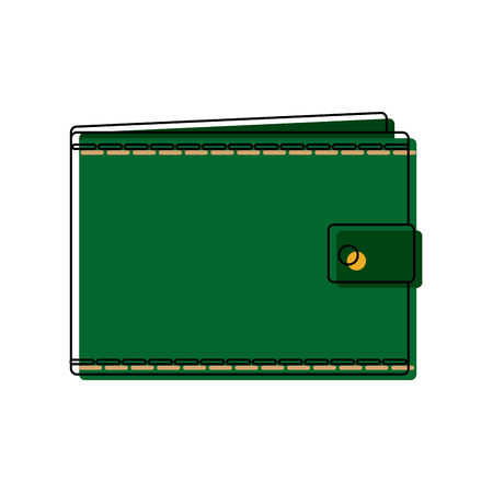A wallet empty money business pocket icon vector illustration