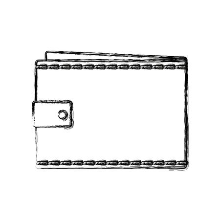 wallet empty money business pocket icon vector illustration