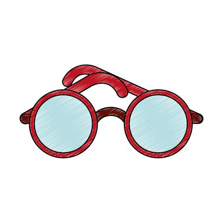 Fashion glasses isolated vector illustration graphic design