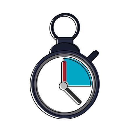 Vintage chronometer symbol vector illustration graphic design Illustration