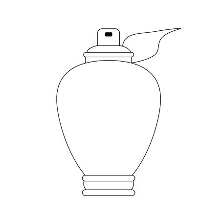 Womens Fragrance bottle vector illustration graphic design Stock Vector - 96542031