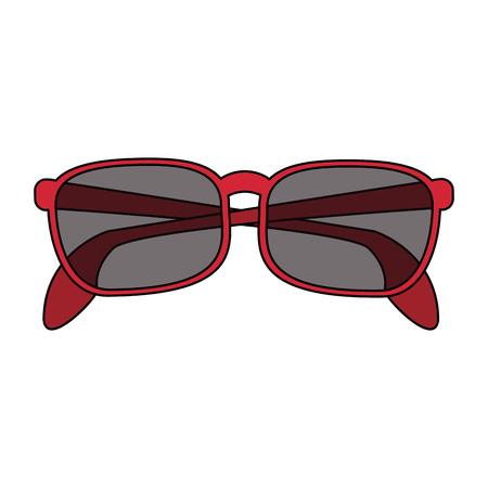 Fashion sunglasses isolated vector illustration graphic design Illustration