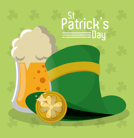 Saint patricks day vector illustration graphic design