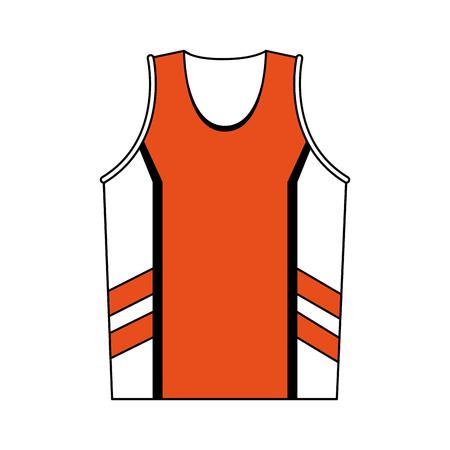 Basketbal sport shirt vector illustratie grafisch ontwerp Stockfoto - 96811969