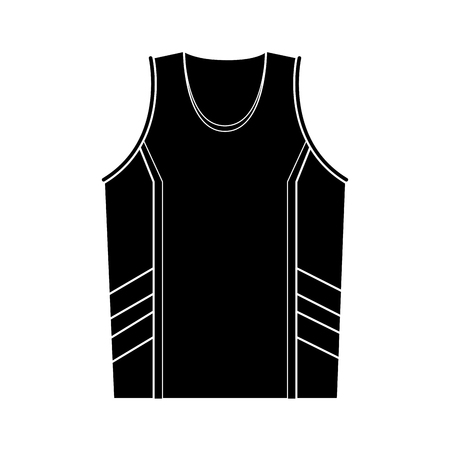 Basketball sport shirt vector illustration graphic design Vettoriali