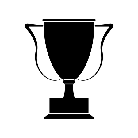 Trophy cup championship vector illustration graphic design