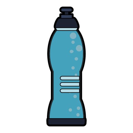 Water bottle vector illustration graphic design