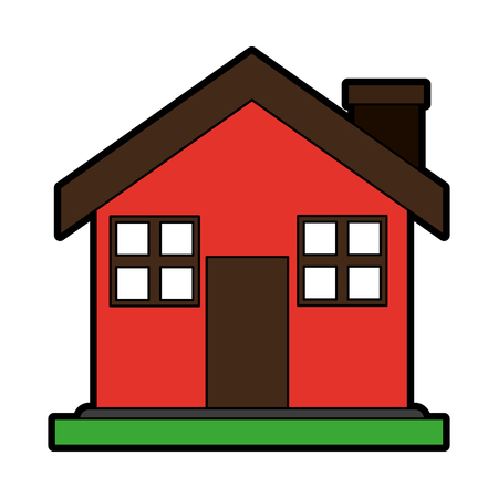 House isolated symbol vector illustration graphic design Иллюстрация