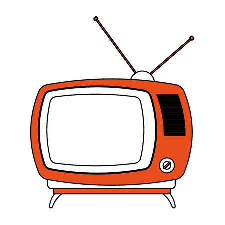 Old television symbol vector illustration graphic design