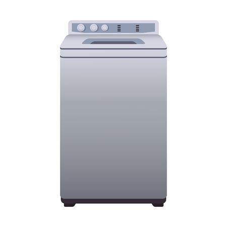 Washer laundry machine vector illustration graphic design